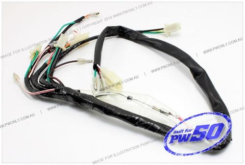 Yamaha Pw50 Wire Harness Assembly