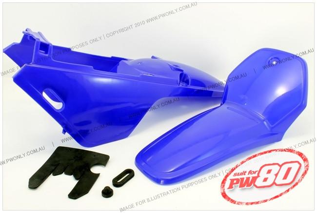 (PW80) - Fender Cover Set (Blue, Yamaha Style)