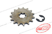 (PW80) - Sprocket, Front Drive (420, 13T)
