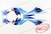(PW80) - Sticker Decals, Graphics Sticket Kit