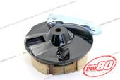 (PW80) - Brake Plate Hub, Front Wheel