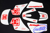 (PW50) - Sticker Decal Graphics Set B (DC Graphics)
