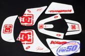(PW50) - Sticker Decal Graphics Set B (DC Graphics)