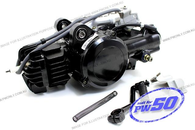 (PW50) - 50cc 2-Stroke Engine Complete