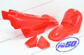 (PW50) - Fender Cover Set (Red)
