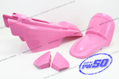 (PW50) Fender Cover Set (Pink)