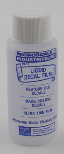 Microscale Liquid Decal Film - Decal saver  MI-12