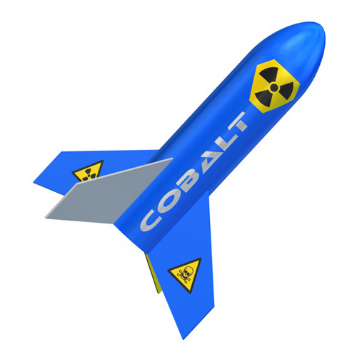 Quest Flying Model Rocket Kit Cobalt 1021