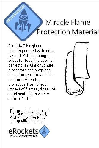 eRockets Miracle Flame Protection Material eR9030