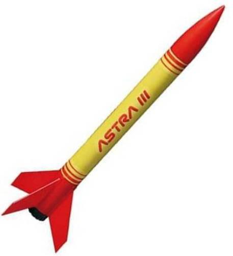 Quest Flying Model Rocket Kit Astra 3 1610Bk Bulk Pack Single Kit