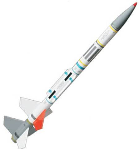 Quest Flying Model Rocket Kit Navaho AGM 3003
