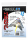 Quest Flying Model Rocket Kit Planet Probe 1022