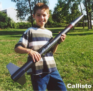 Public Missiles PML Flying Model Rocket Kit Callisto