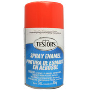 Testors 1231 Gloss Bright Red 3 oz. Spray Paint **
