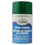 Testors 1630 Jade Green Metal Flake 3 oz. Spray Paint **