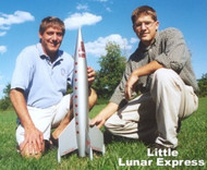 Public Missiles PML Flying Model Rocket Kit Little Lunar Express