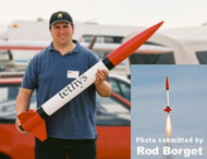 "Public Missiles PML Flying Model Rocket Kit 3.9"" Tethys (special order)"