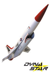 Dynastar Flying Model Rocket Kit Snarky  DYN 5030
