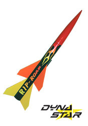 Dynastar Flying Model Rocket Kit Rip-Roar