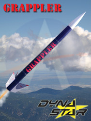 Dynastar Flying Model Rocket Kit Grappler