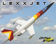 Dynastar Flying Model Rocket Kit LexxJet  DYN 5037