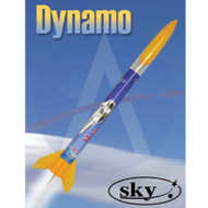 Sky Flying Model Rocket Kit Dynamo  7153