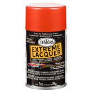 Testors 1840 Flaming Orange Lacquer 3 oz. Spray Paint **