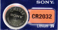 Battery Sony Lithium 3V Button CR2032 1pk