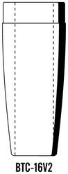 Semroc Balsa Tail Cone BT-16 V2 ***  SEM-BTC-16V2 *