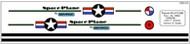 Semroc Decal - Space Plane™   SEM-DES-K3 *