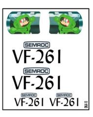 Semroc Decal - VF-261™   SEM-DKA-10 *