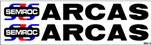 Semroc Decal - Pro Arcas™   SEM-DKS-5 *