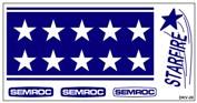 Semroc Decal - Starfire™   SEM-DKV-20 *