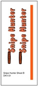 Semroc Decal - Snipe Hunter™ (2 decal set)   SEM-DKV-51 *