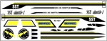Semroc Decal - SST Shuttle-1™   SEM-DKV-89 *