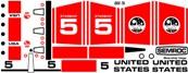 Semroc Decal - Starship Vega™   SEM-DKV-78 *