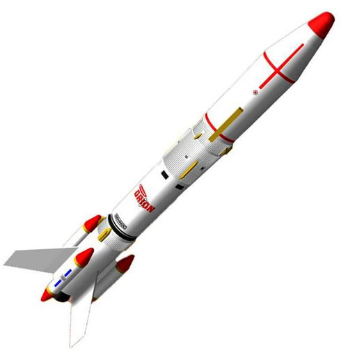 Semroc Flying Model Rocket Kit Orion KV-41