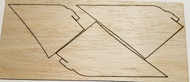 Semroc Laser-Cut Fins VF-261™ (4F)  SEM-FA-10 *