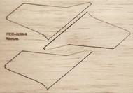 Semroc Laser-Cut Fins Nova™  3/32 Balsa  Sheet SEM-FCE-KM4 *