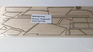 Semroc Laser-Cut Fins Pegasus™  3/32  Balsa   SEM-FES-0806 *