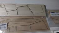 Semroc Laser-Cut Fins Multi Roc™  (Sheet A/B 3/32 Balsa Sheet C 1/6 Balsa    SEM-FES-1329 *