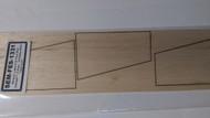 Semroc Laser-Cut Fins Maxi Icarus™ (3 fins) 1/8 Balsa SEM-FES-1331 *
