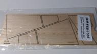 Semroc Laser-Cut Fins Star Speeder™   3/32 Balsa Sheet  SEM-FES-1366 *