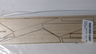 Semroc Laser-Cut Fins SS Cassiopeia™   3/32 Balsa SEM-FES-1369 *