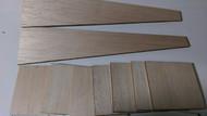 Semroc Laser-Cut Fins Estes Phoenix™ BT-80 (Sheet A/B 1/8 Balsa)   SEM-FES-1380 *