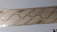 Semroc Laser-Cut Fins V-2™ 3/32 Balsa  SEM-FES-K22 *