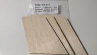 Semroc Laser-Cut Fins Renegade 1271™ (3fins) 1/8 balsa  SEM-FES-K71 *