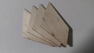 Semroc Laser-Cut Fins Antares™ 3/32 Balsa   SEM-FES-K76 *