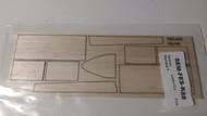 Semroc Laser-Cut Fins Starlab™ 3/32 Balsa  SEM-FES-K88 *
