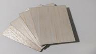 Semroc Laser-Cut Fins Loadlifter 1-A™   1/16 Balsa SEM-FES-P019 *